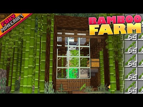 Minecraft | BAMBOO FARM | Bedrock Survival Realm [83] - FoxyNoTail