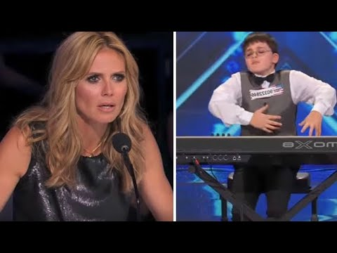 Judges Can NOT Believe 9 Year Old Pianist & His Extraordinary Talent! 😱America's Got Talent