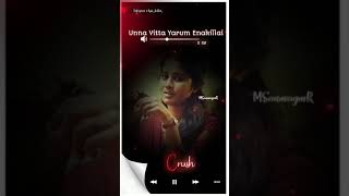 Unna Vitta Yarum enakillai | flute bgm | love status |