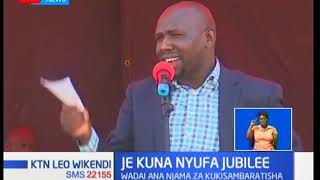 Viongozi wa Jubilee wadai kuwa Raila ajaribu kuvuruga chama hicho