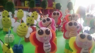 Làm đồ chơi về chủ đề con vật  Đồ dùng sáng tạo  Lớp học mầm non