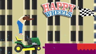 HE'S NOT HAPPY! [HAPPY WHEELS #2][Funny Moments]