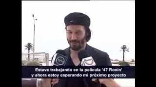 Киану Ривз, 2014 Keanu Reeves arrived in Uruguay