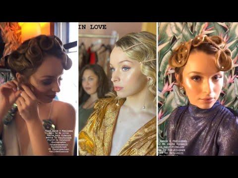 "Taylor Hatala Bello magazine cover shoot ""flashing lights"" Kanye West edit"