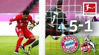 Gnabry's & Lewandowski's Brace!   FC Bayern - Köln   5 - 1   Highlights   Matchday 23 – Bundesliga