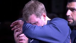Dirk Nowitzki IN TEARS After Spurs Tribute Video! Final NBA Game