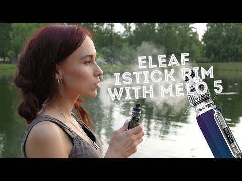 Eleaf iStick Rim 80W (3000 mAh) - боксмод - видео 1