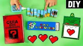 DIYs Dia dos Namorados 💓 Ideias Geek para presentear 💕The Walking Dead, Super Mario e Zelda