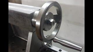 Tailstock Build part.3 - Building lathe#9 Homemade lathe