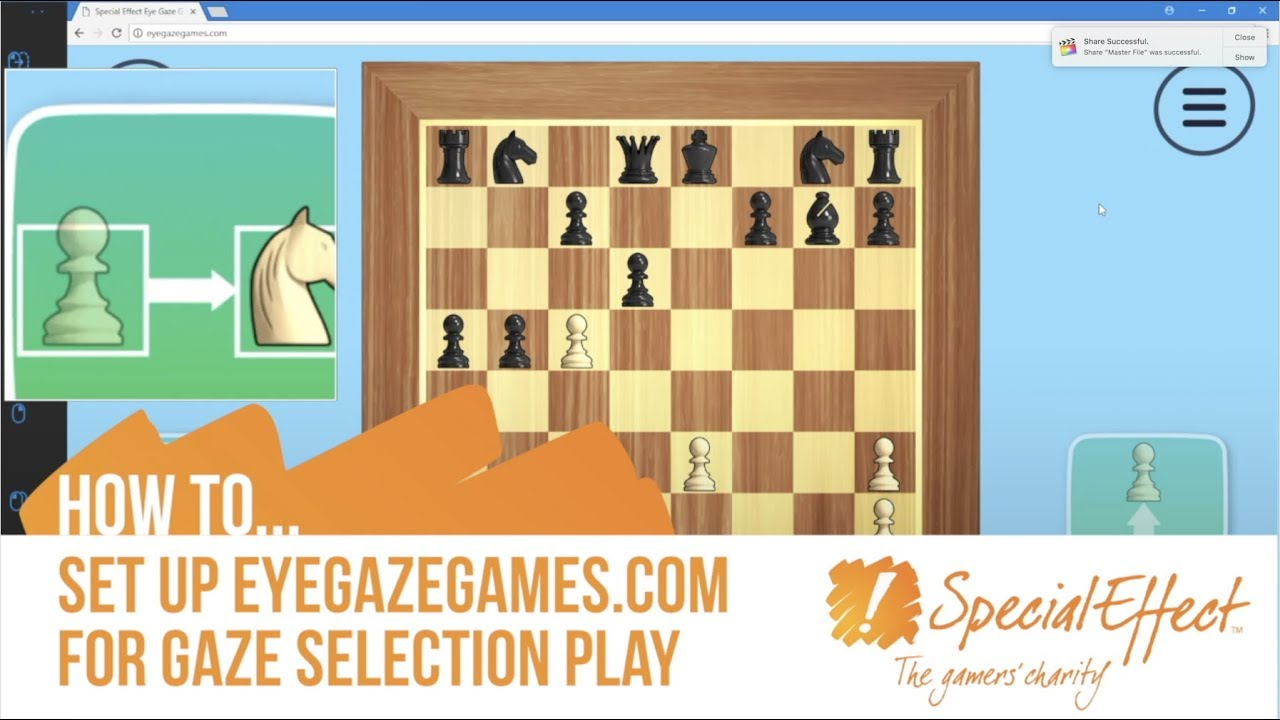 video placeholder for How to Set Up EyeGazeGames.com for Gaze Selection Play | How To... Video