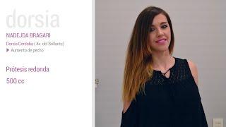 Aumento de pecho - Testimonio Nadejda Bragari