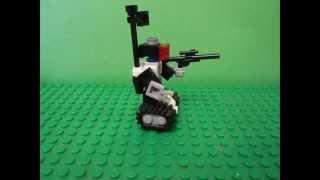 как сделать лего робота How to make lego robot