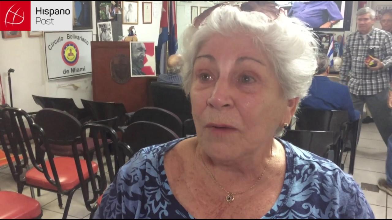 VIVIMOS LAS REACCIONES A LA MUERTE DE FIDEL CASTRO DE LOS  CASTRISTAS EN MIAMI