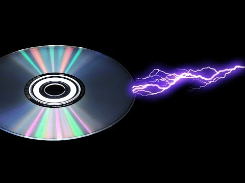 How to Explode a CD Disc with 50.000 Volts?