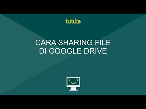 Cara Sharing File Di Google Drive