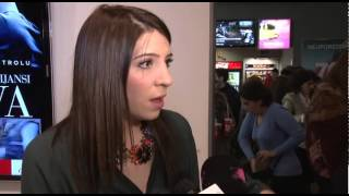 preview picture of video 'Podgorica Glumica Julija Milacic o filmu nakon premijere filma Dvije povratne Titograd Podgorica'
