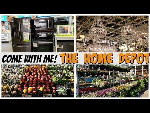 The Home Depot * Spring summer garden Home Ideas  * COME WITH ME 2019