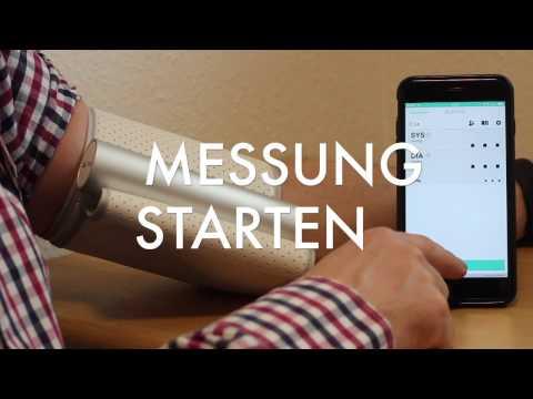 Fernüberwachung von Blutdruck