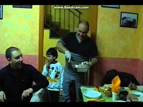 Cena offerta da Giuseppe Mobilia - Malvagna 11/02/2014
