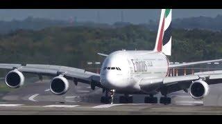 Самолет чуть не разбился при посадке 06.10.2017