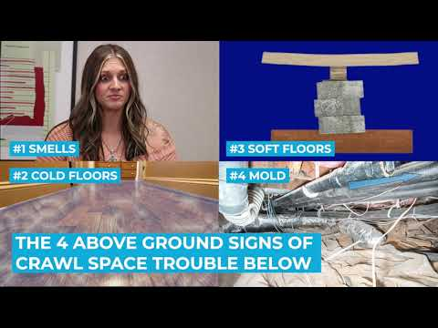 Household Signs of Crawl Space Problems