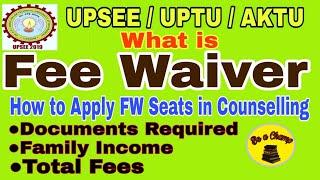 Fee Waiver Seats