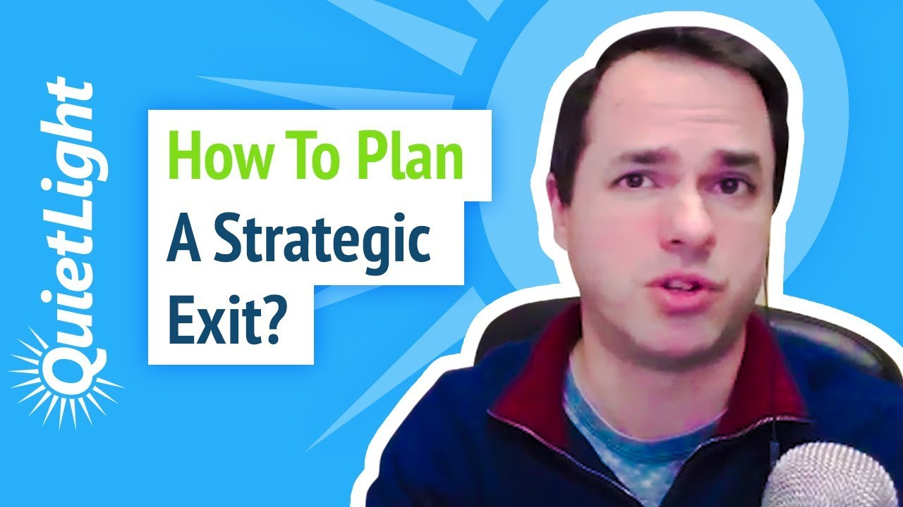 How to Plan a Strategic Exit