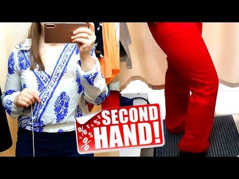 Самая дешевая одежда в Секонд Хенд - дешевле 1$