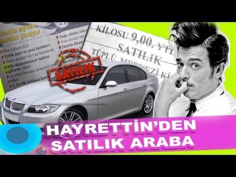 Hayrettin'den uygun fiyata satılık araba :)