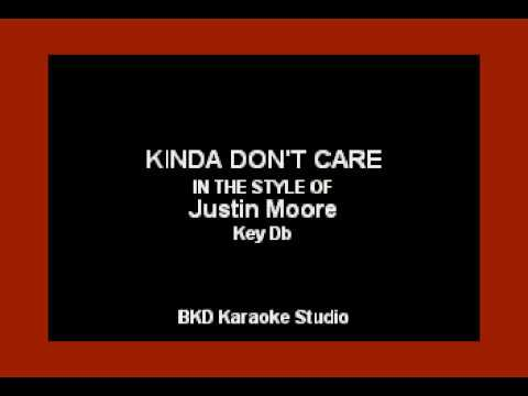 Kinda Don't Care (In The Style Of Justin Moore) (Karaoke With Lyrics) Mp3