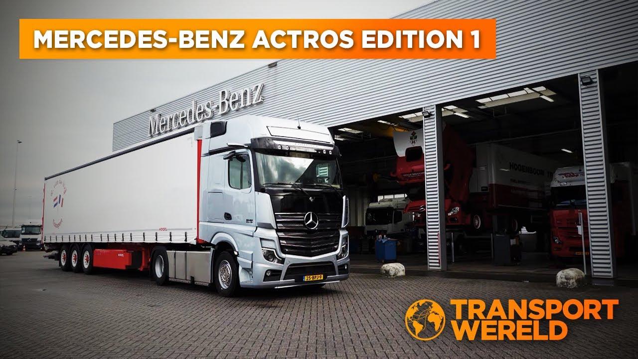 Hoe bevalt de Mercedes-Benz Actros Edition 1?