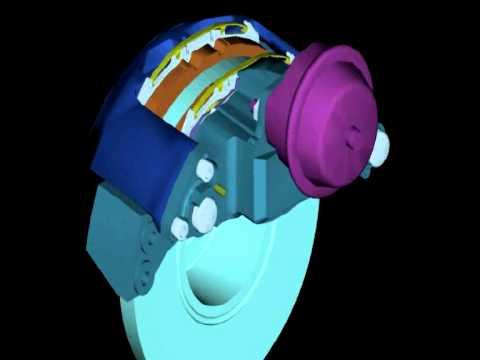 Суппорт Meritor ELSA в 3D