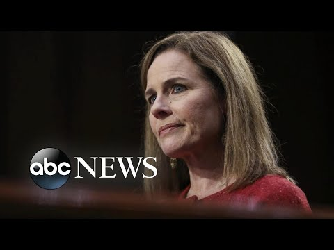 Judge Amy Coney Barrett confirmed as Supreme Court justice