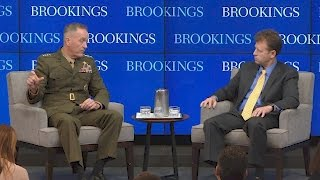 JCS Chairman Dunford: Syrian plan is political-military