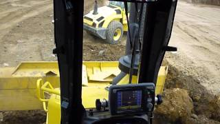 komatsu D61-23 pxi pushing out loads