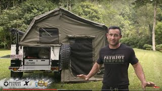Patriot Campers X1 - 2016 WINNER Offroad Camper Trailer Of The Year 2016 - With Judges Reviews