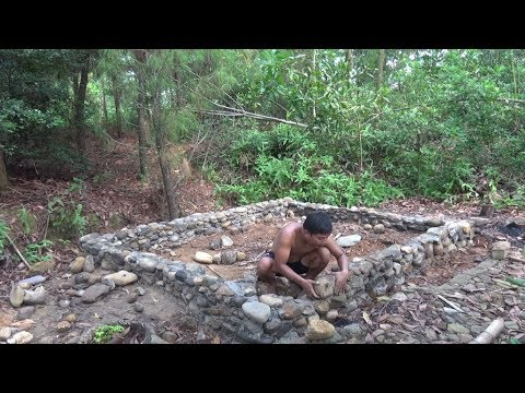 Primitive Life: Build a new house from stone!P1