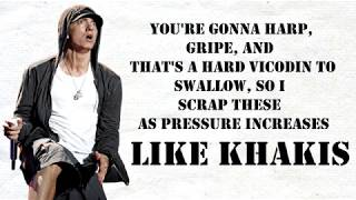 Eminem   Walk On Water (Lyrics) Ft. Beyoncé  [Clean Version]