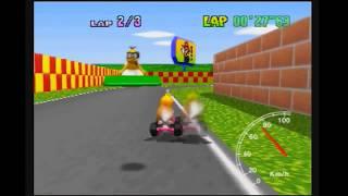 "MK64 - World Record on Mario Raceway - 27""63* (NTSC: 22""98) by Daniel Burbank"