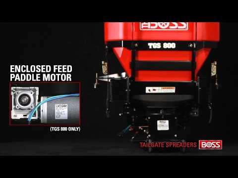 BOSS Tailgate Spreaders' Features