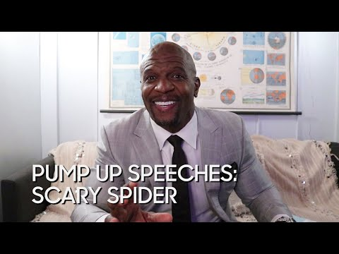 Pump Up Speeches: Scary Spider (with Terry Crews)