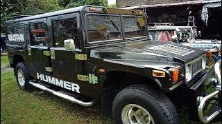 HUMMER Filipino Made.. Alamin kung magkano ito.....