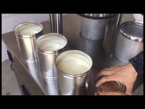 sellador de nitrógeno, sellado al vacío, sellado de nitrógeno al vacío, máquina selladora de latas