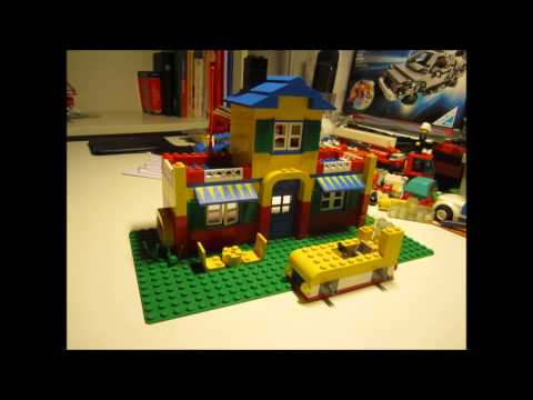 Lego system 4153 freestyle mallette construction jouet occasion bonhommes divers