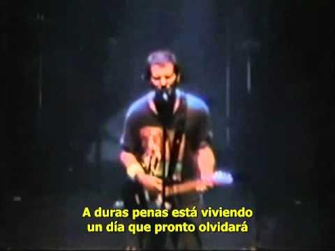 Pearl Jam - Soon Forget en español