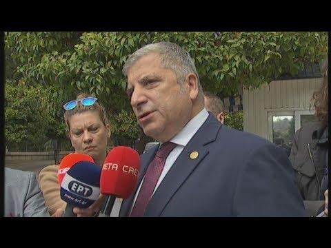 Δηλώσεις Γ. Πατούλη και Α. Τζιτζικώστα μετά τη συνάντηση του πρωθυπουργού με τους περιφερειάρχες