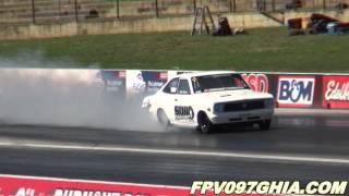 SDR MOTORSPORT 13B TURBO DATSUN COUPE RUNS 7.39 @ 187 MPH – SYDNEY DRAGWAY 5.11.2011