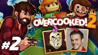 Overcooked 2 | Cooking Daddy! | Let's Play Overcooked 2 Part 2