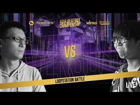 D1SH(TW) vs Soso(JP)|Loopstation Elimination Asia Beatbox Championship 2019