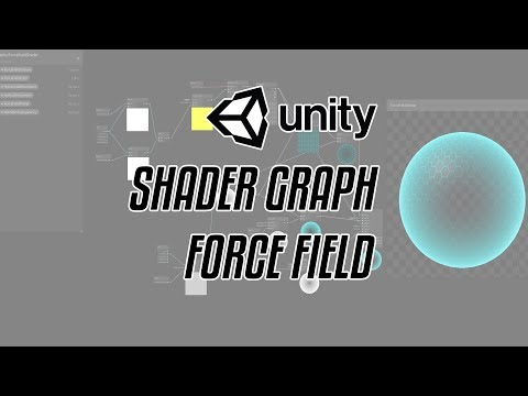Unity Force Field Shader - смотреть онлайн на Hah Life